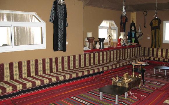 חדר אירוח לקבוצות (צילום: רונית סבירסקי)